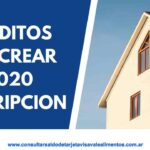 Plan Procrear 2020 ANSES