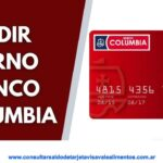 banco Columbia sacar turno